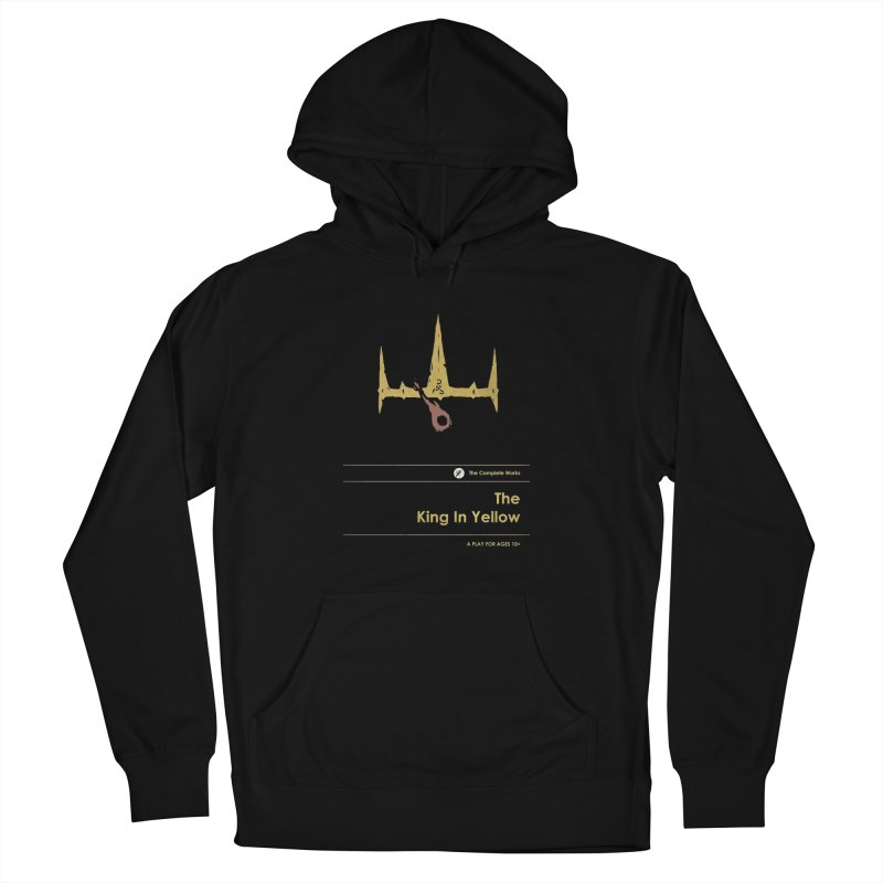 The King in Yellow Women's French Terry Pullover Hoody by Moonskinned