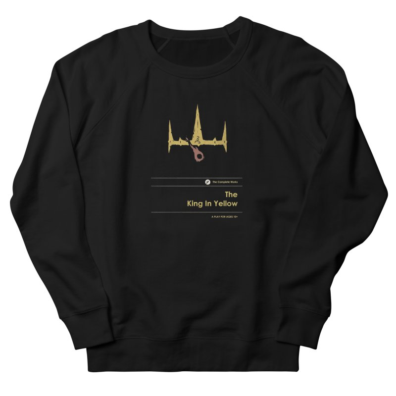 The King in Yellow Men's French Terry Sweatshirt by Moonskinned