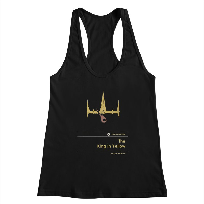 The King in Yellow Women's Tank by Moonskinned