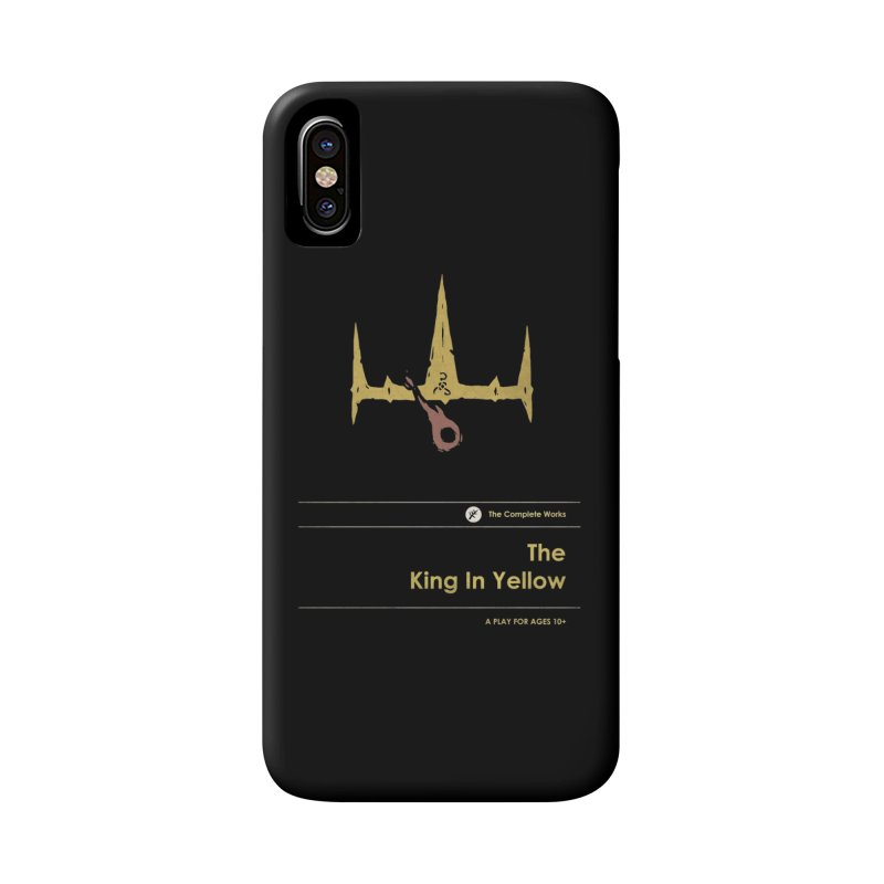 The King in Yellow Accessories Phone Case by Moonskinned