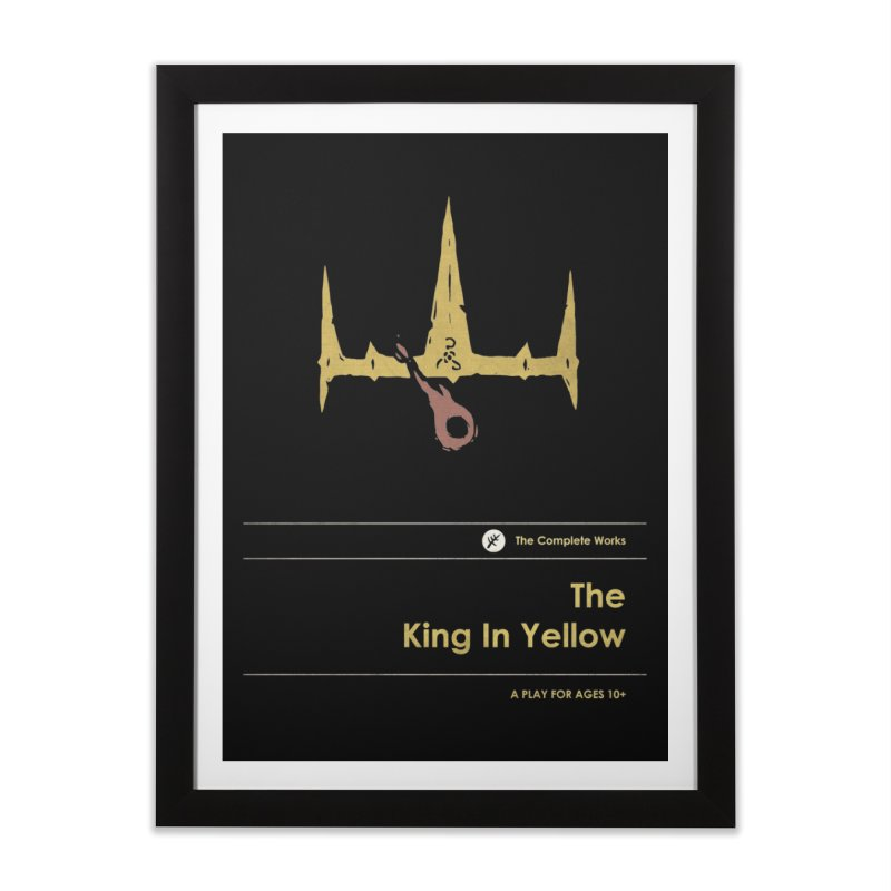 The King in Yellow Home Framed Fine Art Print by Moonskinned
