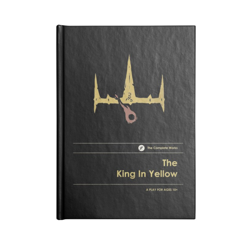 The King in Yellow Accessories Notebook by Moonskinned