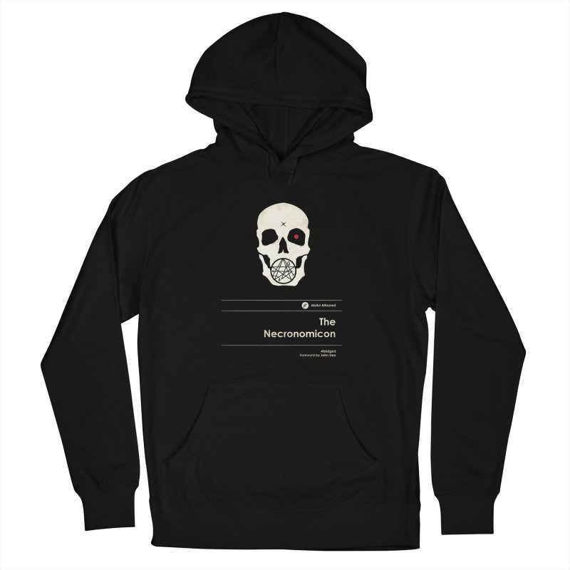 The Necronomicon Men's French Terry Pullover Hoody by Moonskinned