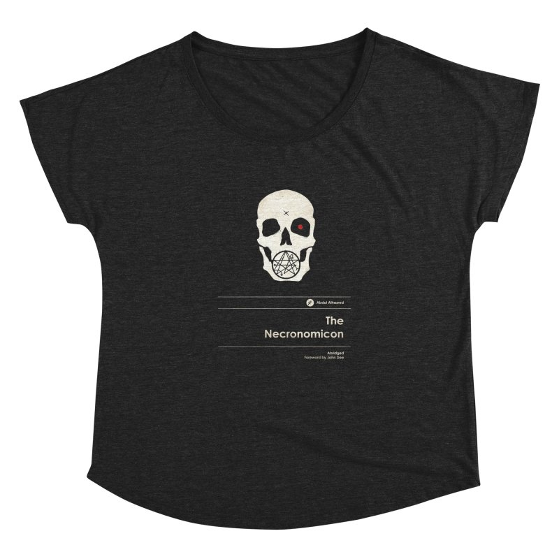 The Necronomicon Women's Scoop Neck by Moonskinned