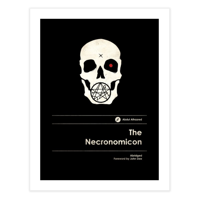 The Necronomicon Home Fine Art Print by Moonskinned
