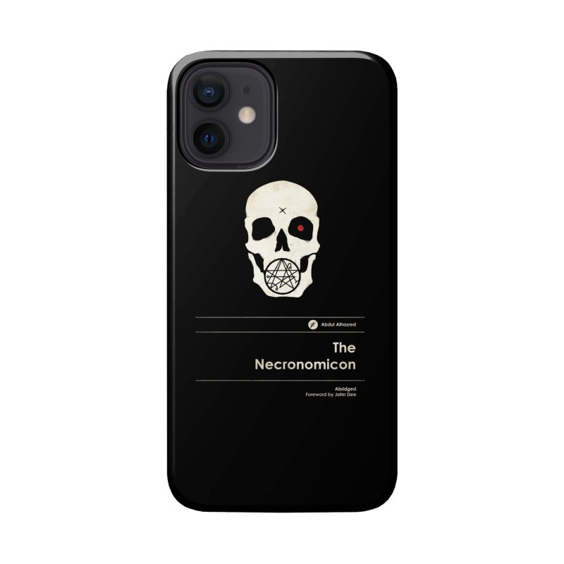 The Necronomicon Accessories Phone Case by Moonskinned