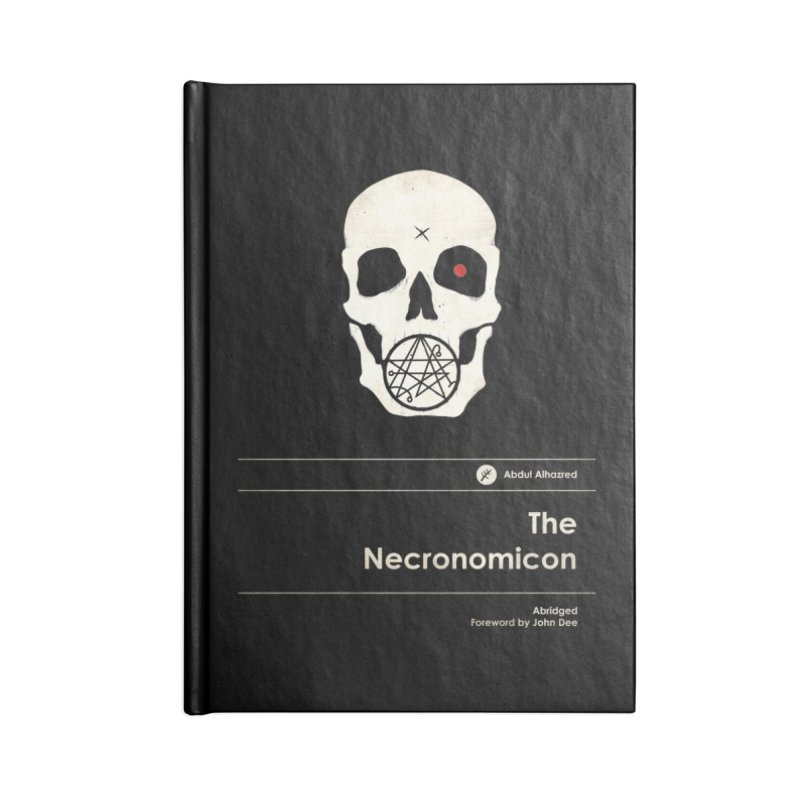 The Necronomicon Accessories Notebook by Moonskinned