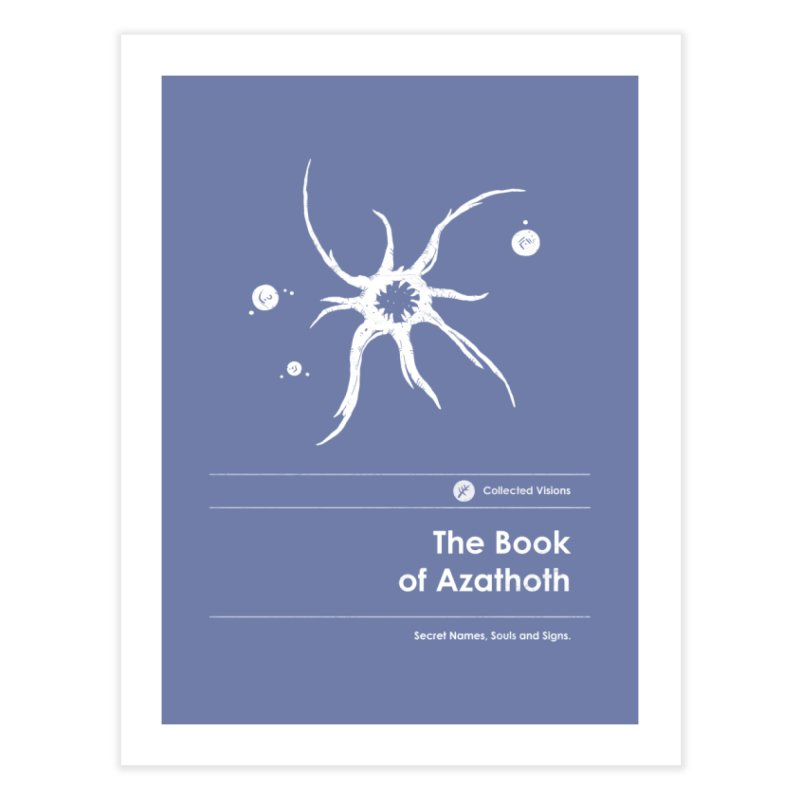The Book of Azathoth (Special Edition) Home Fine Art Print by Moonskinned