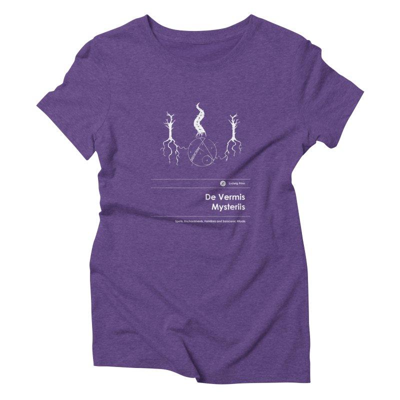 De Vermis Mysteriis (Special Edition) Women's T-Shirt by Moonskinned