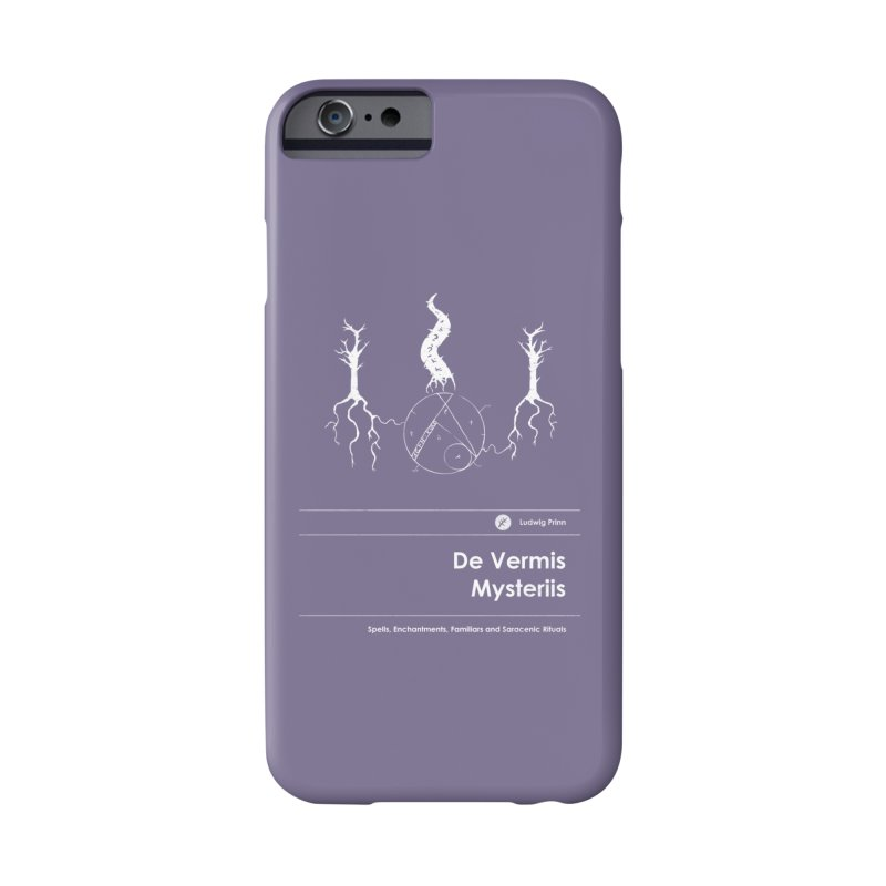 De Vermis Mysteriis (Special Edition) Accessories Phone Case by Moonskinned