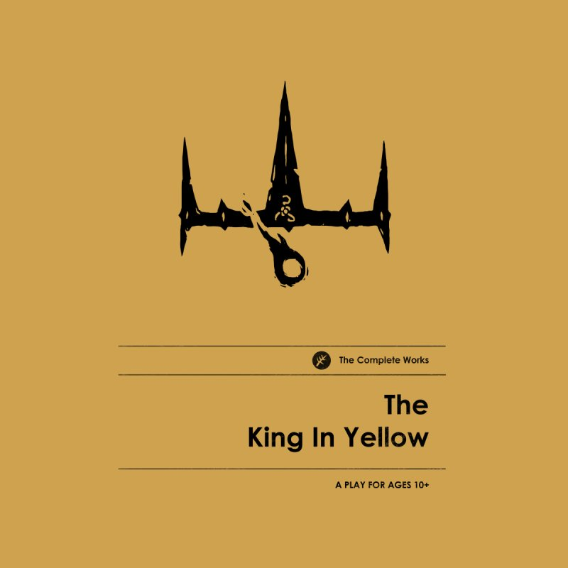 The King in Yellow (Special Edition) Men's T-Shirt by Moonskinned