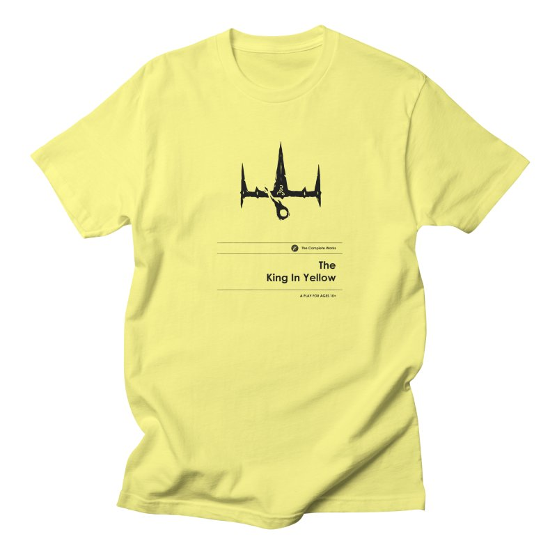 The King in Yellow (Special Edition) Men's Regular T-Shirt by Moonskinned