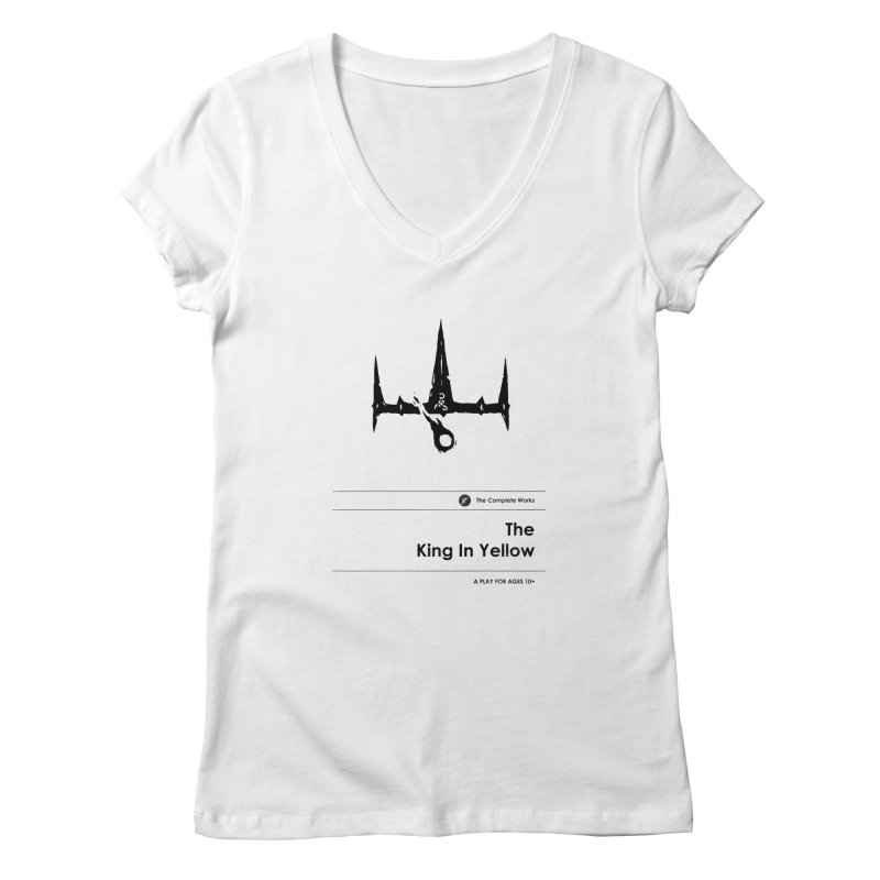 The King in Yellow (Special Edition) Women's V-Neck by Moonskinned