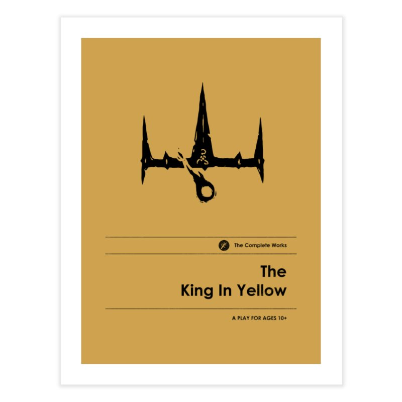 The King in Yellow (Special Edition) Home Fine Art Print by Moonskinned