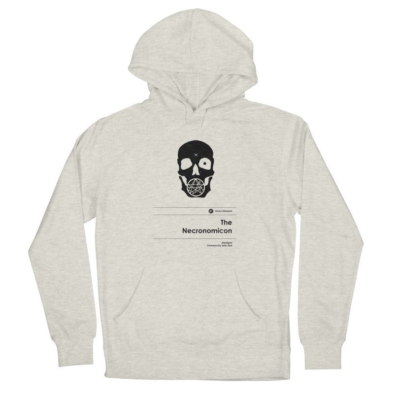 The Necronomicon (Special Edition) Men's French Terry Pullover Hoody by Moonskinned