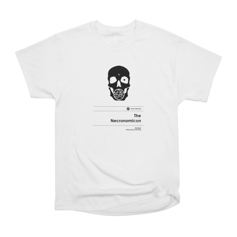 The Necronomicon (Special Edition) Women's Heavyweight Unisex T-Shirt by Moonskinned