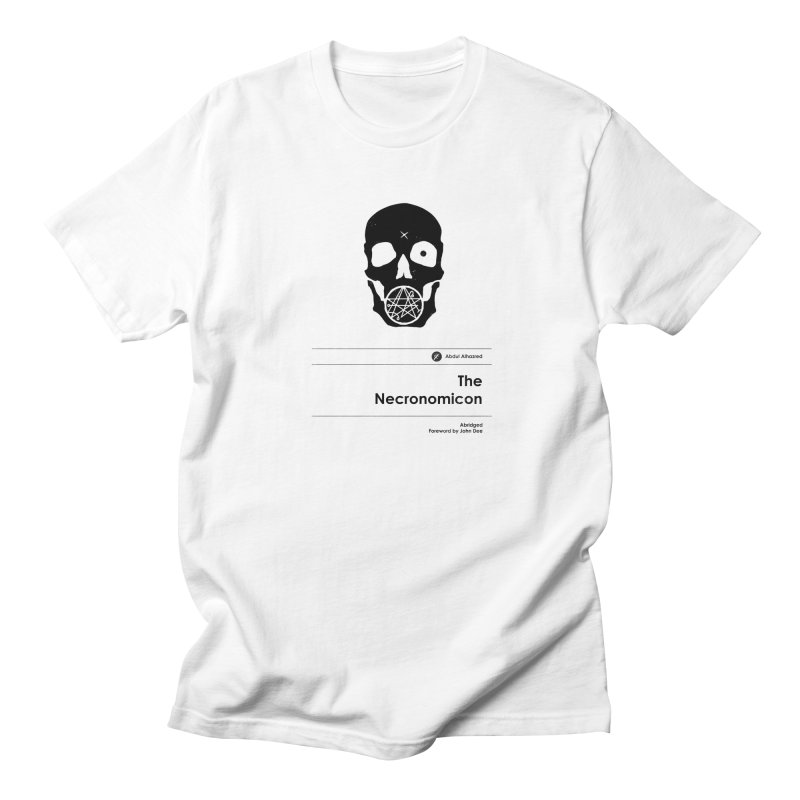 The Necronomicon (Special Edition) Men's T-Shirt by Moonskinned
