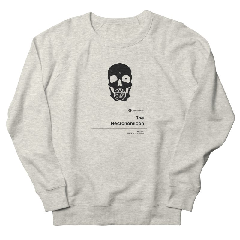 The Necronomicon (Special Edition) Women's French Terry Sweatshirt by Moonskinned