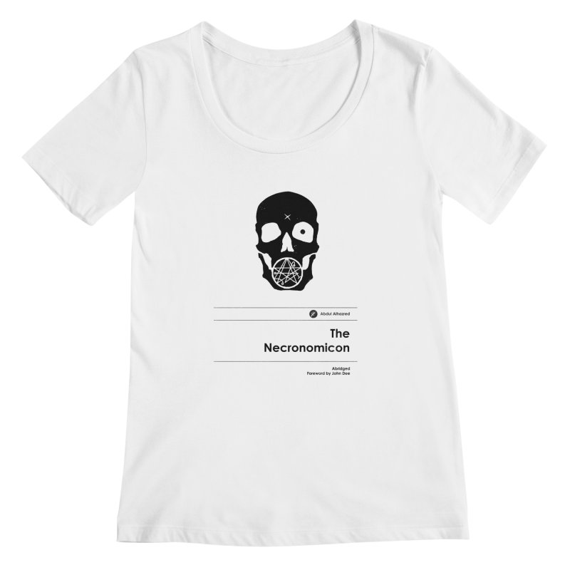 The Necronomicon (Special Edition) Women's Scoopneck by Moonskinned