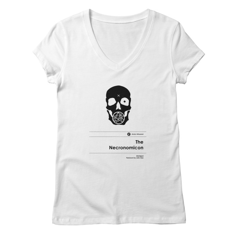 The Necronomicon (Special Edition) Women's V-Neck by Moonskinned