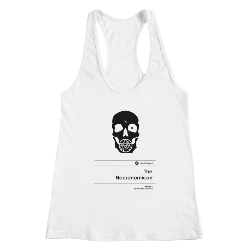 The Necronomicon (Special Edition) Women's Tank by Moonskinned