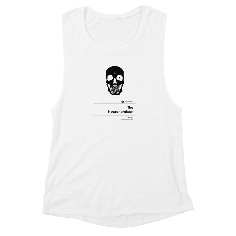 The Necronomicon (Special Edition) Women's Muscle Tank by Moonskinned
