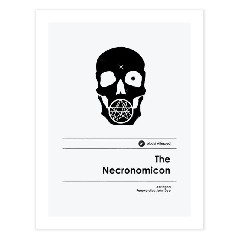 The Necronomicon (Special Edition) Home Fine Art Print by Moonskinned
