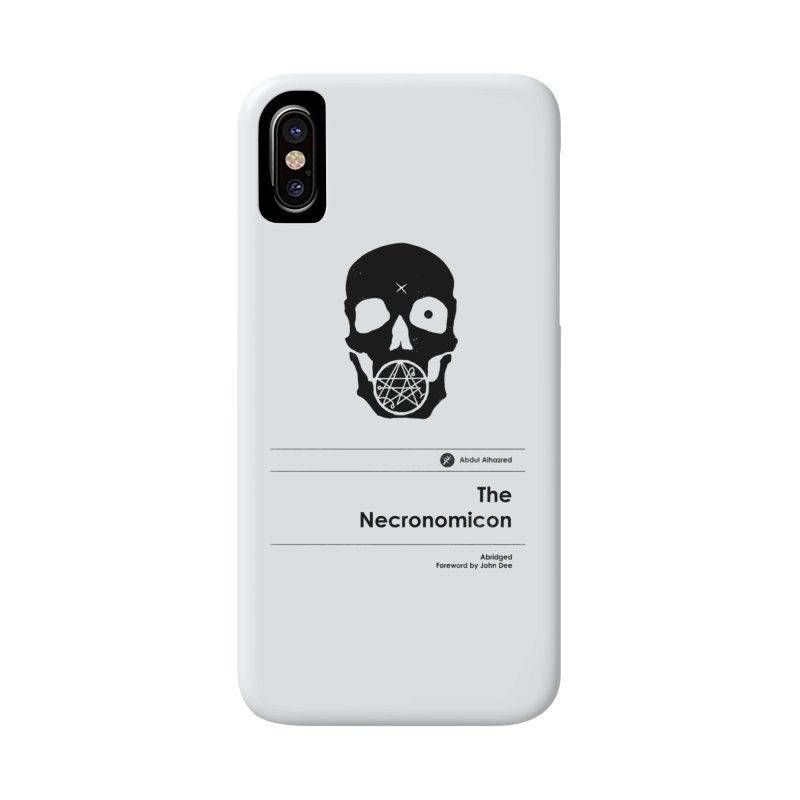 The Necronomicon (Special Edition) Accessories Phone Case by Moonskinned