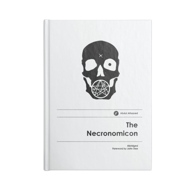 The Necronomicon (Special Edition) Accessories Notebook by Moonskinned