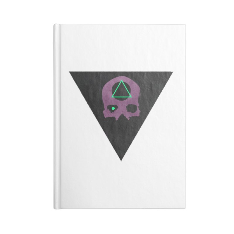 Waits In Graves Accessories Notebook by Moonskinned