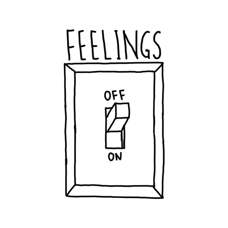 feelings switch Men's T-Shirt by moonyluna.