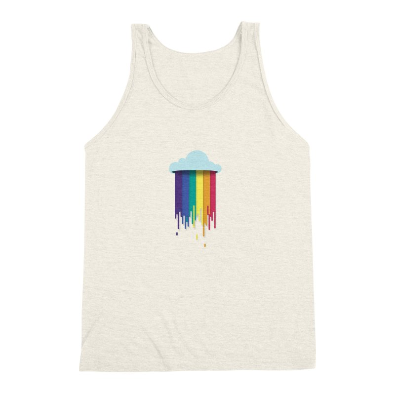 What Clouds are Made Of Men's Triblend Tank by Moran Barkai's Shop