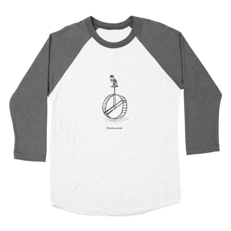 The Little Inventor Men's Baseball Triblend T-Shirt by Moran Barkai's Shop