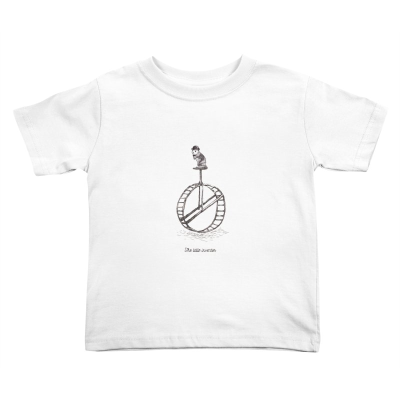 The Little Inventor Kids Toddler T-Shirt by Moran Barkai's Shop