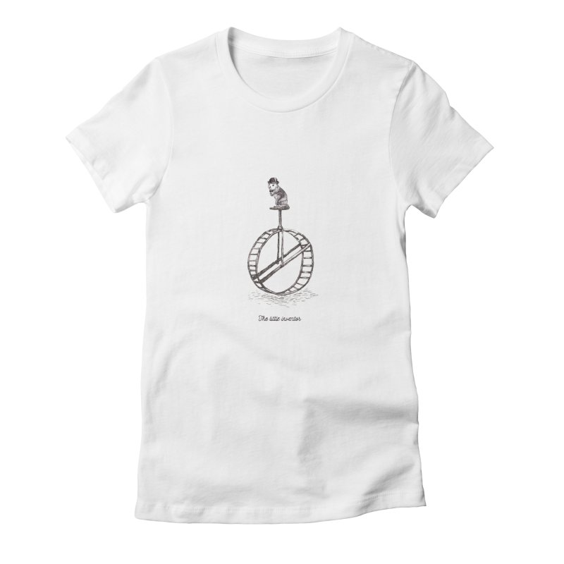 The Little Inventor Women's Fitted T-Shirt by Moran Barkai's Shop