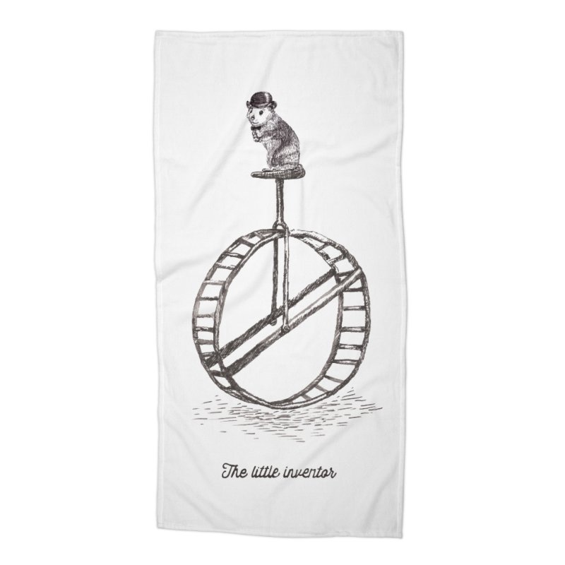 The Little Inventor Accessories Beach Towel by Moran Barkai's Shop