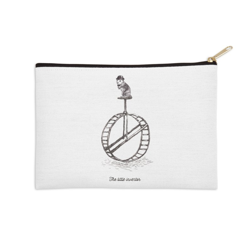 The Little Inventor Accessories Zip Pouch by Moran Barkai's Shop