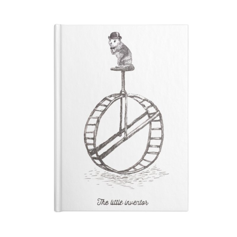 The Little Inventor Accessories Notebook by Moran Barkai's Shop