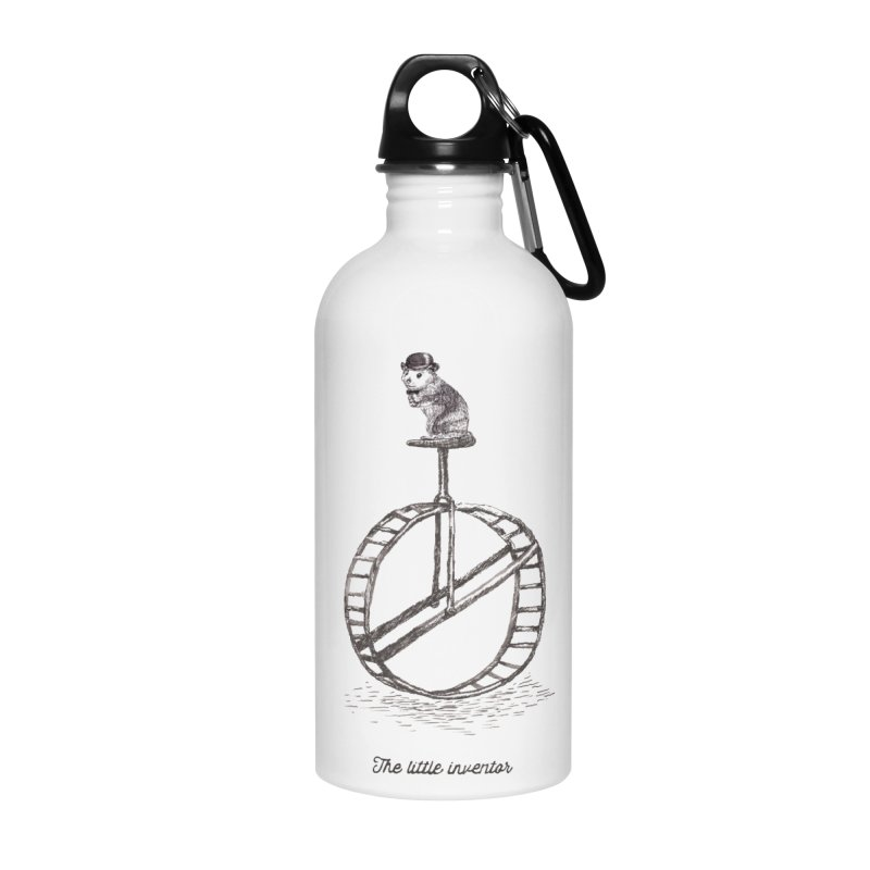 The Little Inventor Accessories Water Bottle by Moran Barkai's Shop