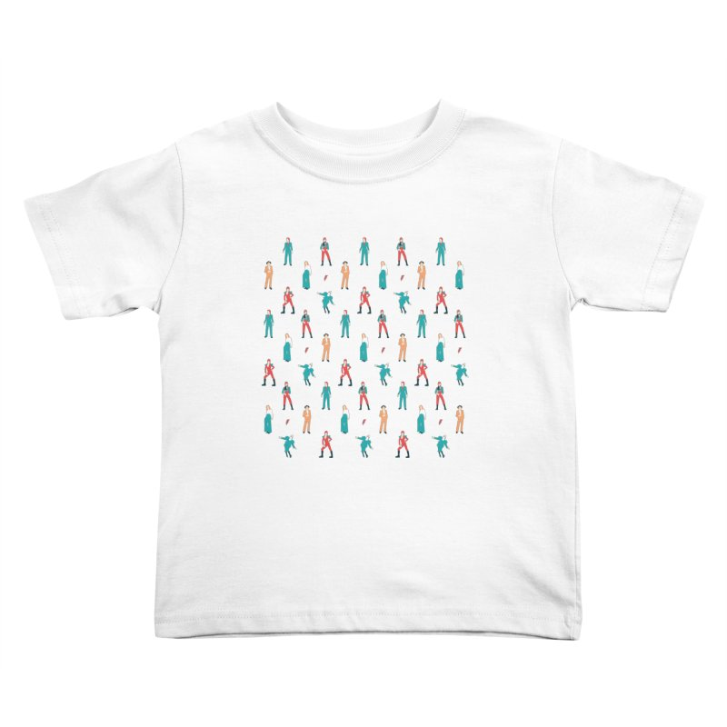 The Land of Bowie Kids Toddler T-Shirt by Moran Barkai's Shop