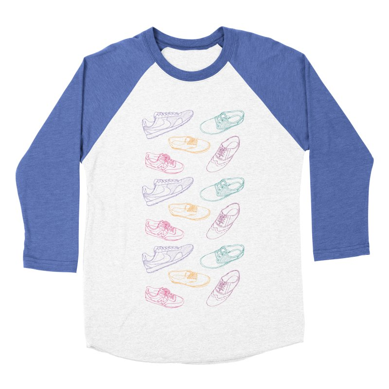 I'm Wearing Shoes Women's Baseball Triblend T-Shirt by Moran Barkai's Shop