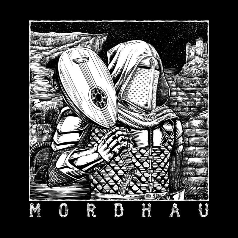 Portrait with Lute (dark) Men's T-Shirt by Mordhau Merchandise