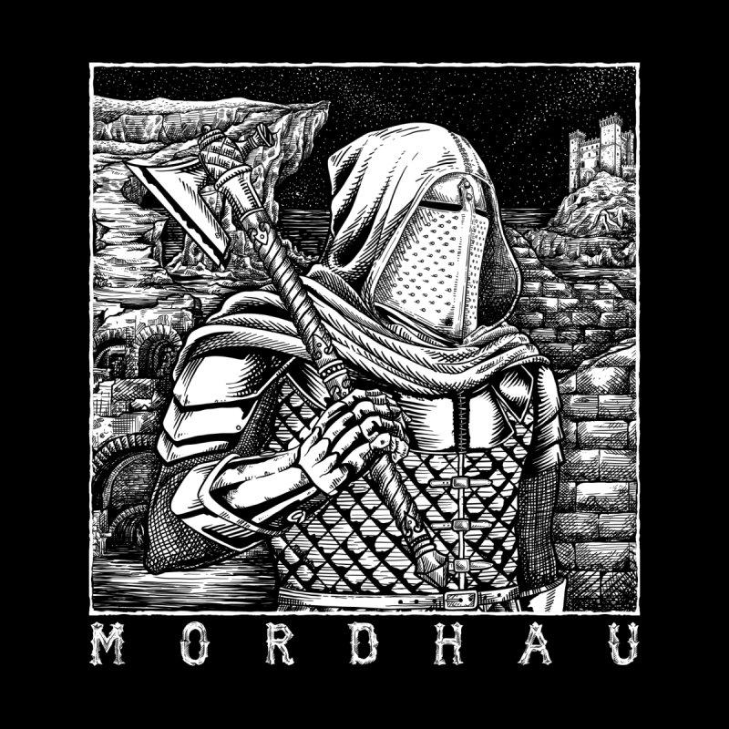 Portrait with Axe (dark) Men's T-Shirt by Mordhau Merchandise