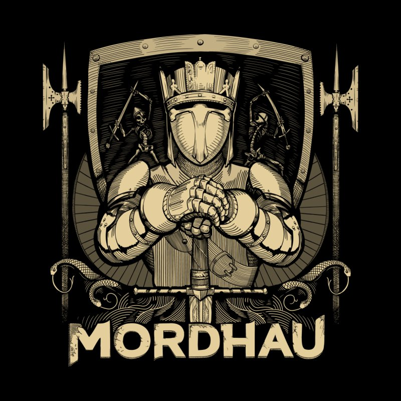 Mordhau Knight (gold) Men's T-Shirt by Mordhau Merchandise