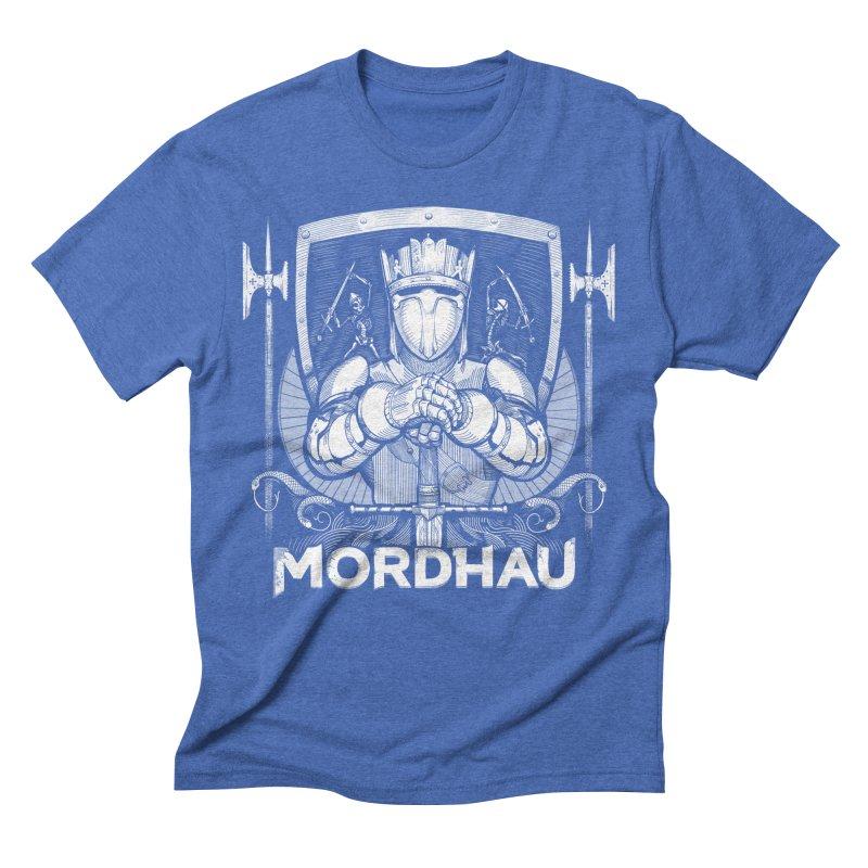Mordhau Knight (white) Men's Triblend T-Shirt by Mordhau Merchandise