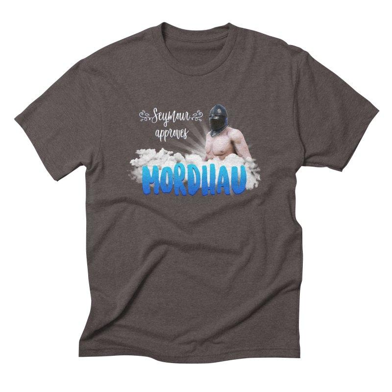 Seymour approves Men's Triblend T-Shirt by Mordhau Merchandise