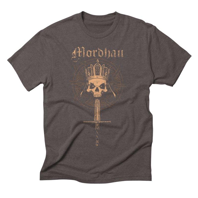 Mordhau Skull (bronze) Men's Triblend T-Shirt by Mordhau Merchandise