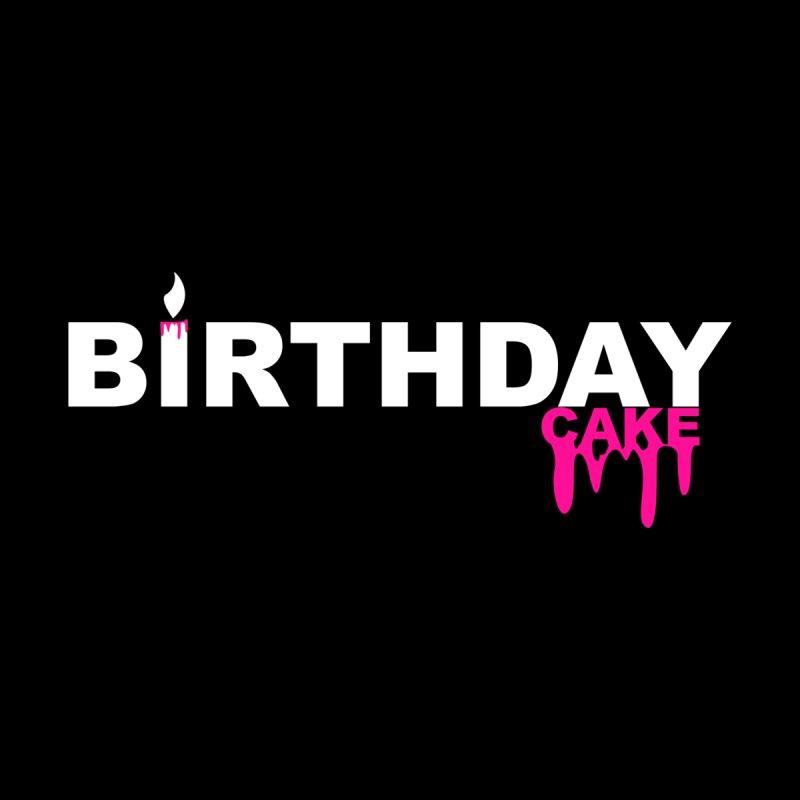 BIRTHDAY CAKE (Wht & Pnk) Kids Baby T-Shirt by More Cake?