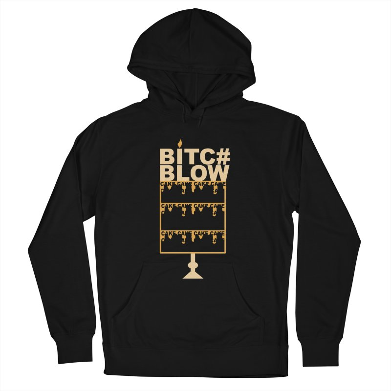 BITC# BLOW (Gld) Men's Pullover Hoody by More Cake?