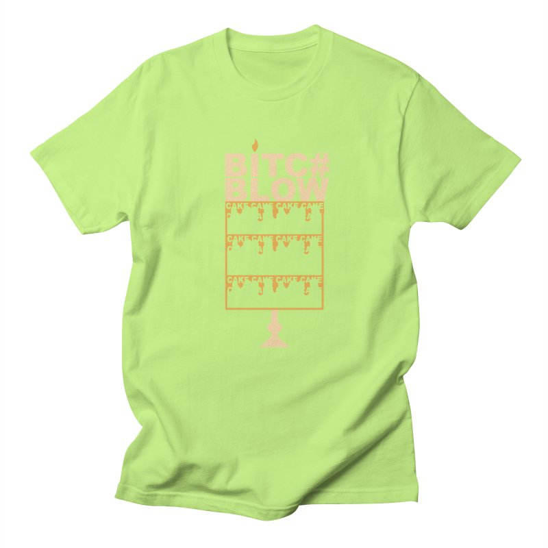 BITC# BLOW (Gld) Men's T-Shirt by More Cake?